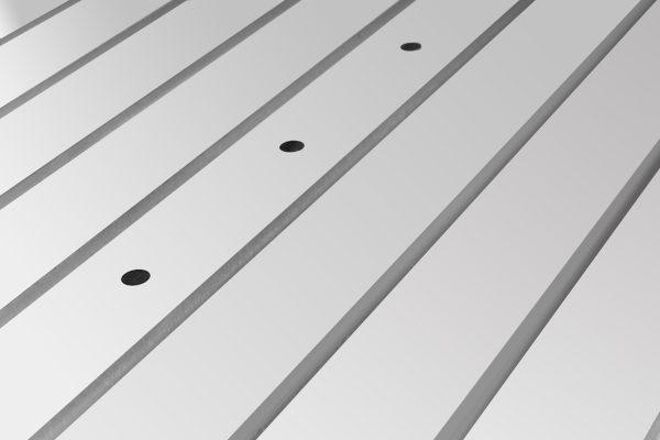 Frezarka CNC - Stół do mocowania mechanicznego