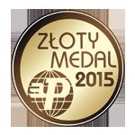 Złoty medal za Ploter frezujący CNC 2030 Professional 11 kW, ATC Międzynarodowe Targi Poznańskie Drema 2015